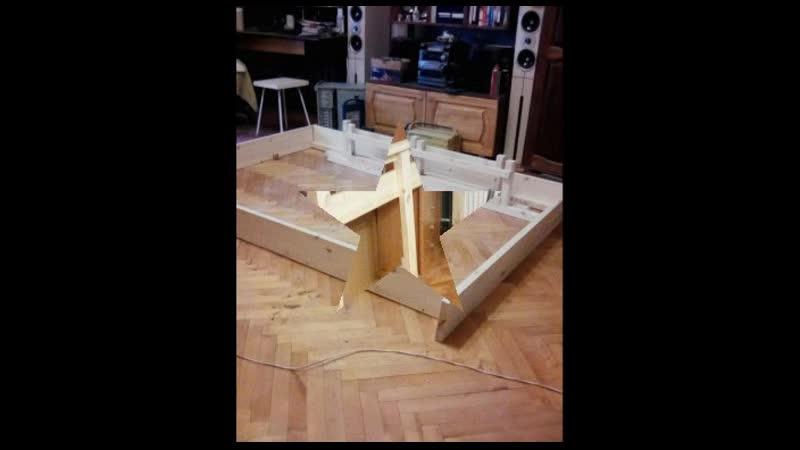 строительство кровати