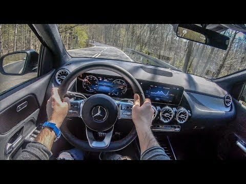 Mercedes B-Class 4K POV Test Drive Mercedes 2019