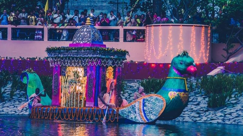 Sri Dham Mayapur Nauka Bihar (Boat) Festival 2019
