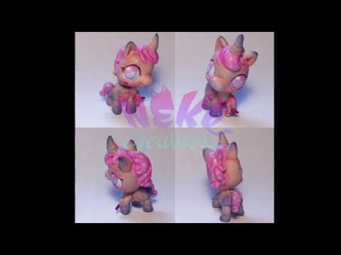 | Speedpaint Custom { Купидончик } Horse LPS OOAK |