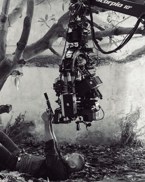 Уилл Смит опубликовал фото со съемочной площадки «Гемини»