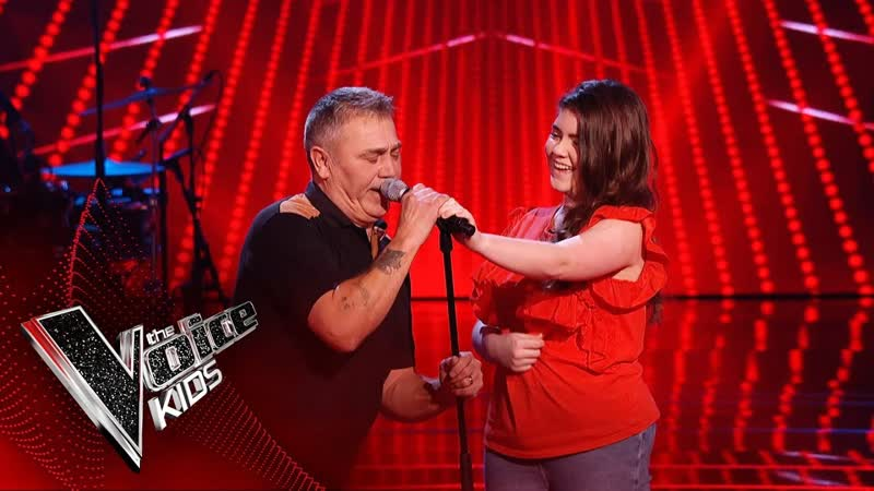 Gracie O'Brien Duets With Her Grandad Wayne (The Voice Kids UK 2019)