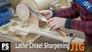 Homemade Lathe Chisel Sharpening Jig