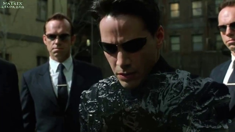 NEO vs SMITH Matrix Reloaded Parte 1 de 2