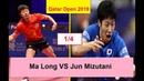 1/4 Qatar Open 2019 Ma Long vs Jun Mizutani Highlights