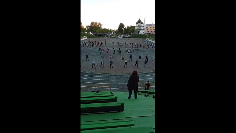 Подготовка ко Дню Города 2019, Ярославль, стадион Спартаковец