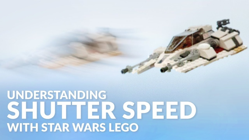 Learn Camera Basics with Star Wars LEGO! | SHUTTER SPEED Tutorial