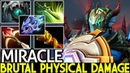 Miracle Sven Brutal Physical Damage Late Game Monster 7 22 Dota 2