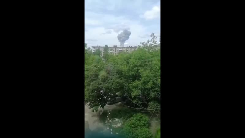 Une série d'explosions dans une usine de TNT près de Nijni Novgorod