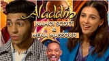 Aladdin's Naomi Scott and Mena Massoud on diversity and making a Guy Ritchie musical