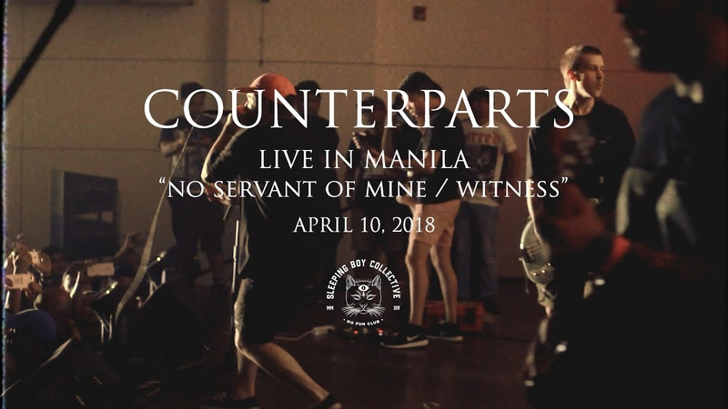 Counterparts - No Servant of Mine Witness (Live in Manila)