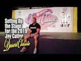 JAY CUTLER-SETTING UP THE STAGE FOR THE 2019 JAY CUTLER DESERT CLASSIC.