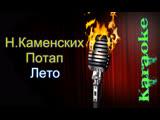 Потап и Настя Каменских - Лето ( караоке )