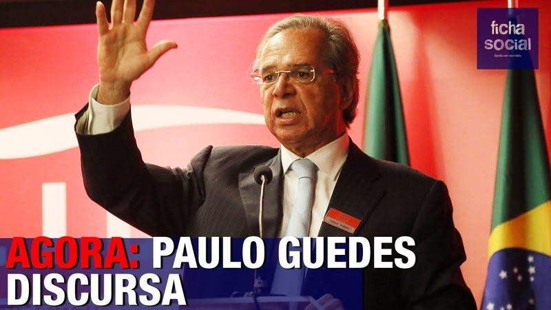 AGORA: PAULO GUEDES É INTENSAMENTE APLAUDIDO AO DISCURSAR APÓS TUMULTO - COM JOICE HASSELMANN