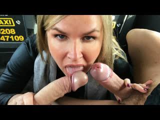 [faketaxi] summer rose - greedy blonde milf wants two cocks newporn2019