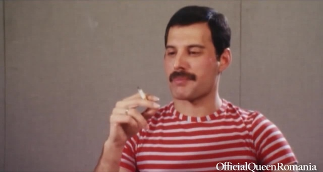 Freddie Mercury about his hobbies