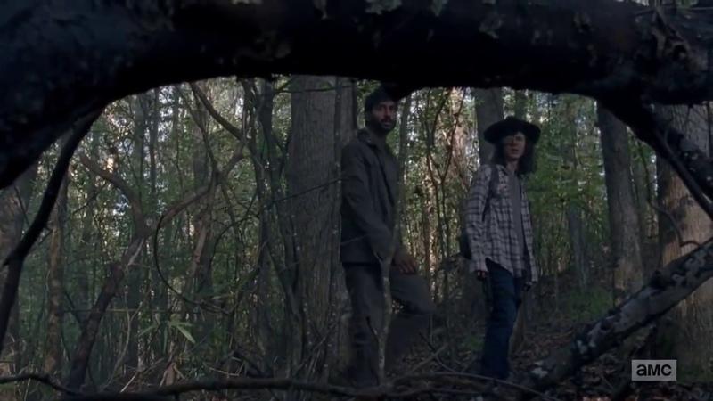 How Carl Grimes gets bit on The Walking Dead.