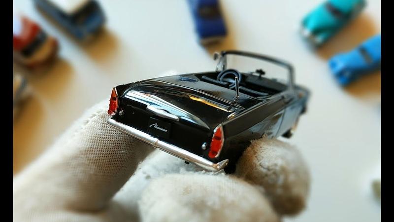Про МАШИНКИ. Моделька машины Москвич-408 Турист легендарный советский автомобиль.