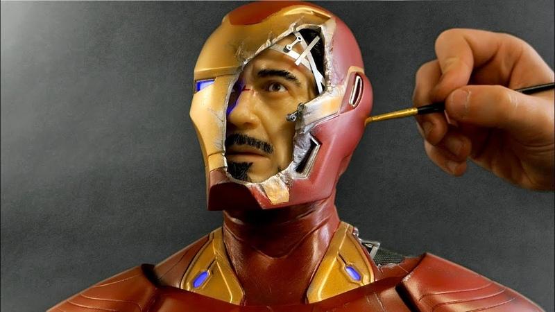 Iron Man Sculpture Timelapse Avengers Infinity War Endgame