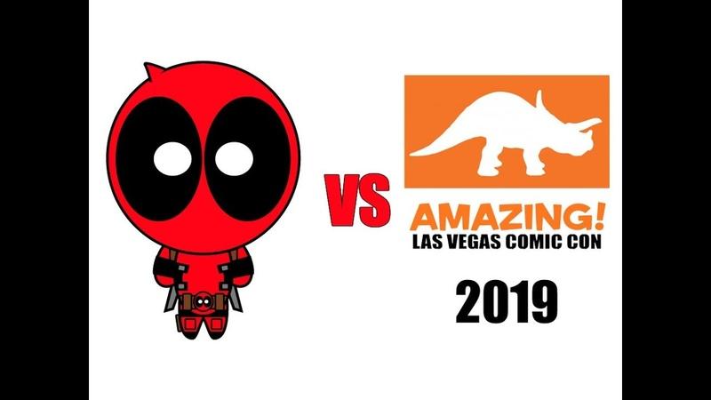Deadpool vs Amazing Las Vegas Comic Con 2019