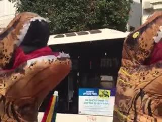Next stop Jurassic Park !! ( Purim at Tel-Aviv )