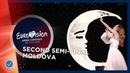 Anna Odobescu - Stay - Moldova - LIVE - Second Semi-Final - Eurovision 2019