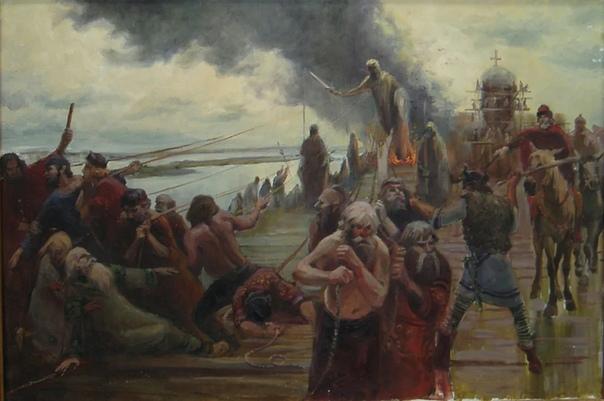 Как на самом деле крестили Русь