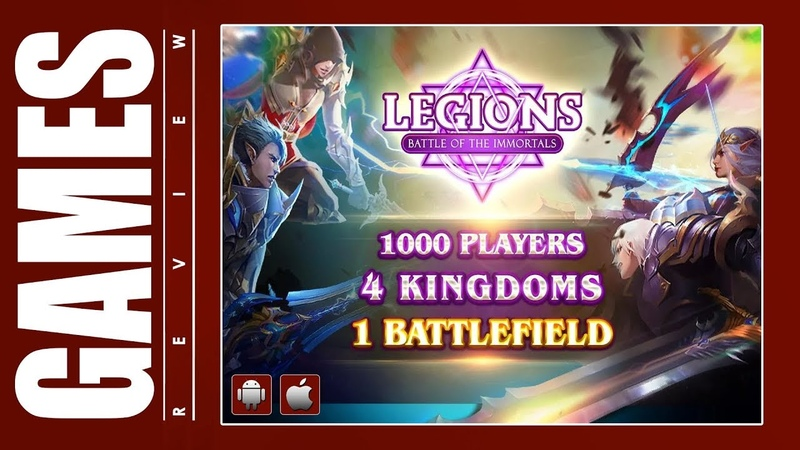 Legions Battle of the Immortals (iOS Android) Gameplay ᴴᴰ