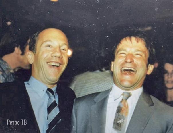 Савелий Крамаров и Робин Уильямс, 1995 год