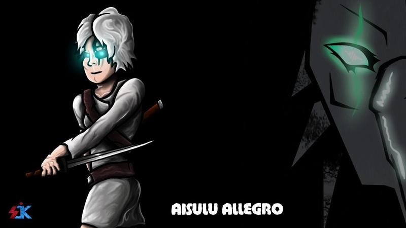 Рисунок Персонажа - Айсулу Аллегро. Незримый.