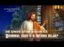 """Film creștin """"Ce voce frumoasă"""" Segment 2 - De unde știm sigur că Domnul Isus s-a întors deja"""