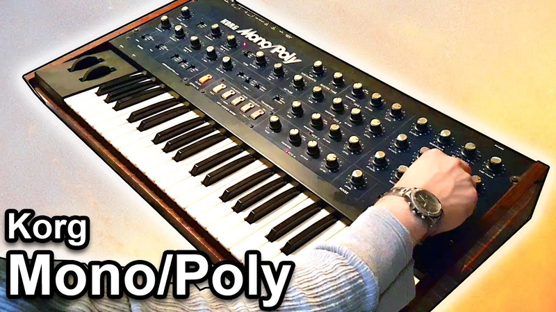 KORG MONOPOLY - Ambient Arpeggiator Soundscape 【Synth Demo】