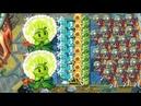 Plants vs Zombies 2 Dandelion Missile Toe vs All zombies