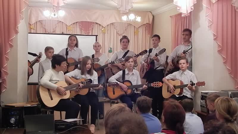Песня Звёздная высь В.Четвертаков. Исполняет Поющая струна .