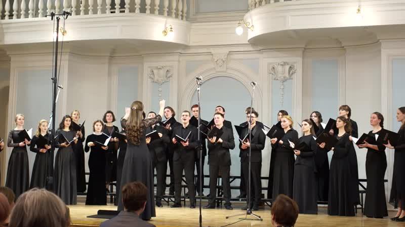 I.12 О.Векки - Fa una canzone, дир. А.Павлова
