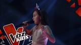 Daniela canta Veo En Ti La Luz Audiciones a Ciegas La Voz Kids Colombia 2019