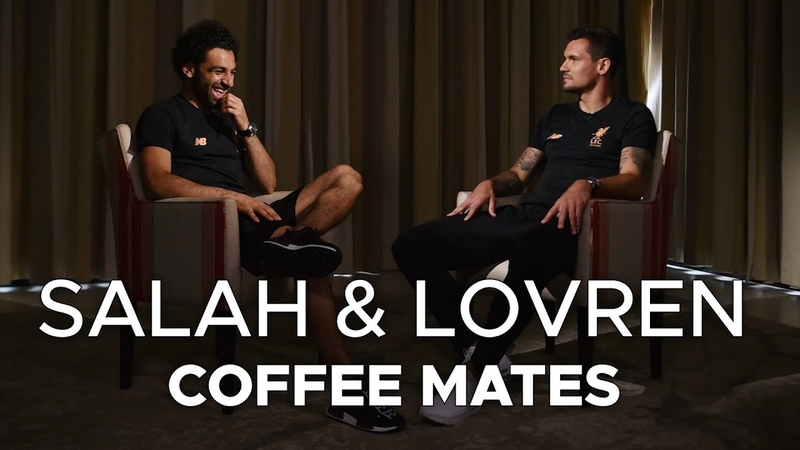 Salah Lovren: Coffee Mates   'I had to Google Virgil to see how old he was'