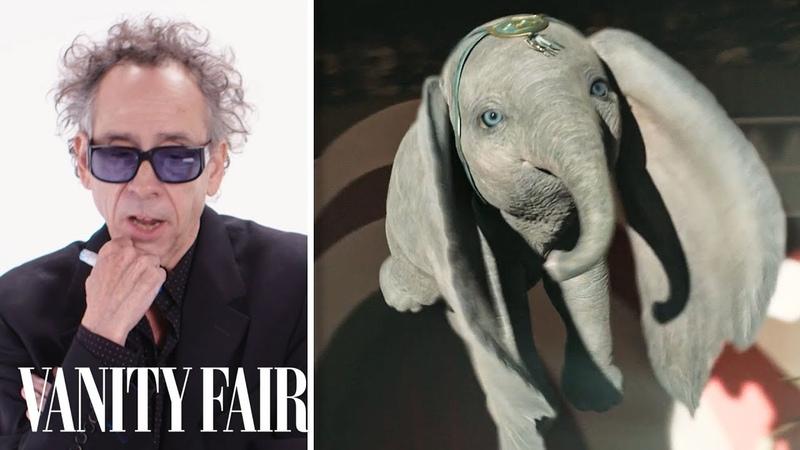 Tim Burton Breaks Down Dumbos Parade Scene With Colleen Atwood | Vanity Fair