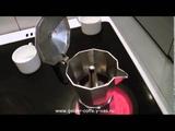 Гейзерная кофеварка (Bekker). Обзор