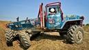Боевые УРАЛ 6х6 соревнования по триалу . 6x6 Ural Truck Trial