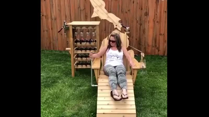Кресло для любителей вина