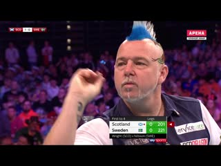 Scotland vs Sweden (PDC World Cup of Darts 2019 / Round 2)