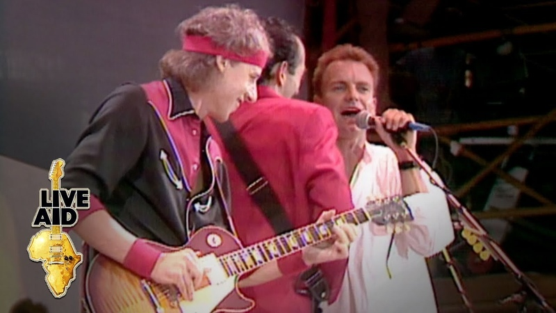 Dire Straits Sting - Money For Nothing (Live Aid 1985)