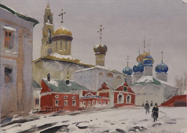Юрий Химич (19282003) Из серии «Загорск» 1957