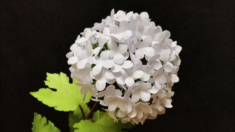 ABC TV | How To Make Snowball Viburnum Paper Flower - Craft Tutorial