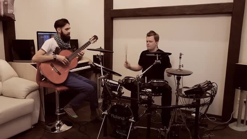 Ellie Goulding - Love Me Like You Do (theToughBeard ft. KC_drums Cover) (50 Shades Of Grey)