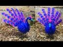 113 Ide kreatif Cara membuat merak dari stoking how to make nylon flower peacock