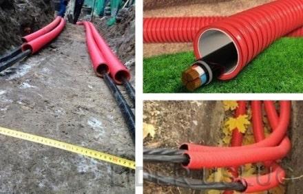 Прокладка кабеля в земле – картинка 1