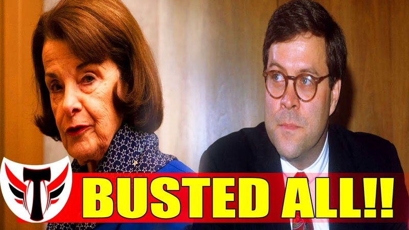 OH WATCH!! AG Barr SHUTS DOWN Dianne Feinstein, EXPOSED THE ONE THING THEY DREAD THE MOST!! WOOHOO!!