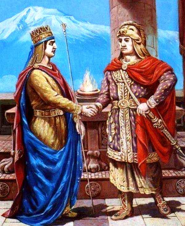 Тигран и Митридат